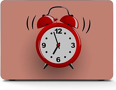 Reloj Despertador Hora de despertarse Macbook Air/Pro 11/12/13/15 Inch Estuche Estuche rígido de plástico Carcasa Apple Macbook Air Estuche 13inch Macbook Pro Estuche Mac Pro Cover: Amazon.es: Electrónica