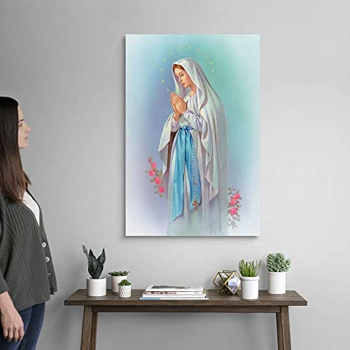 Mary Canvas Wall Art Print