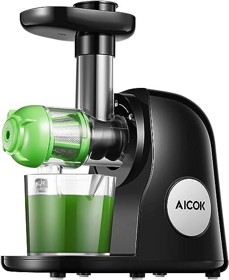 AICOK máquinas exprimidor, Slow masticating exprimidor Extractor ...