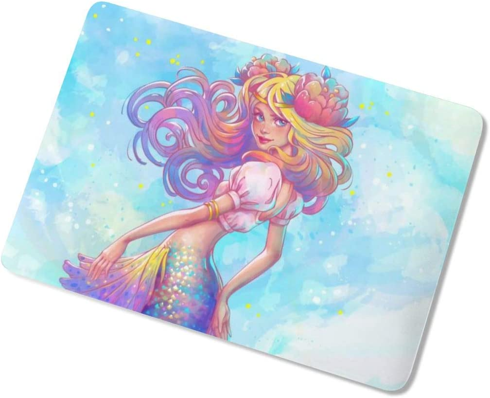 Watercolor Mermaid Laptop Case Dust-Proof Laptop Case Cover Beauty Fully Protect Computer Plastic Case Hard Shell Cover Laptop Sleeve Case for air13