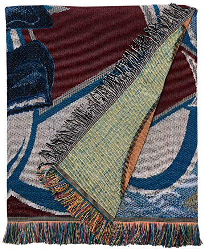 (The Northwest Company Officially Licensed NHL Colorado Avalanche Homefield Ice Advantage Woven Tapestry Throw Blanket, 48