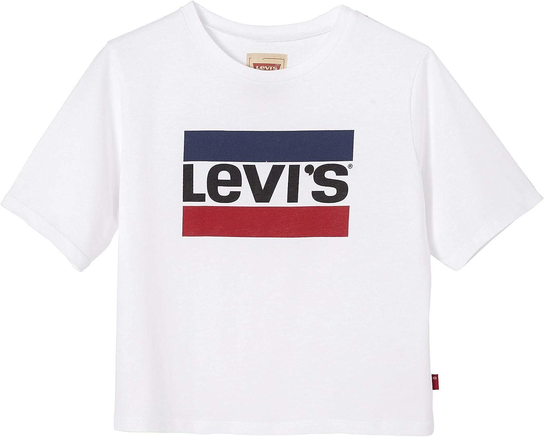 Camiseta Levis Bacio Blanca Niña: Amazon.es: Ropa y accesorios