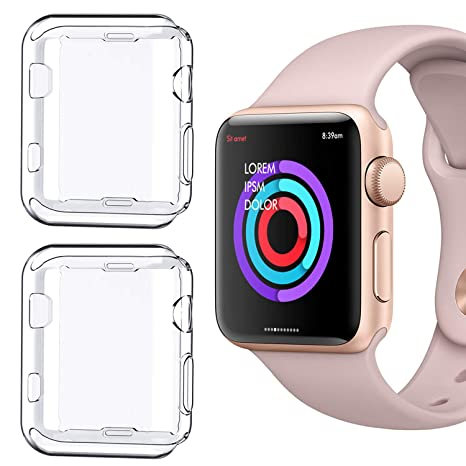 official photos 0529b 717b7 Apple Watch Series 1 38mm Case, NSR iPhone Watch TPU: Amazon.in ...