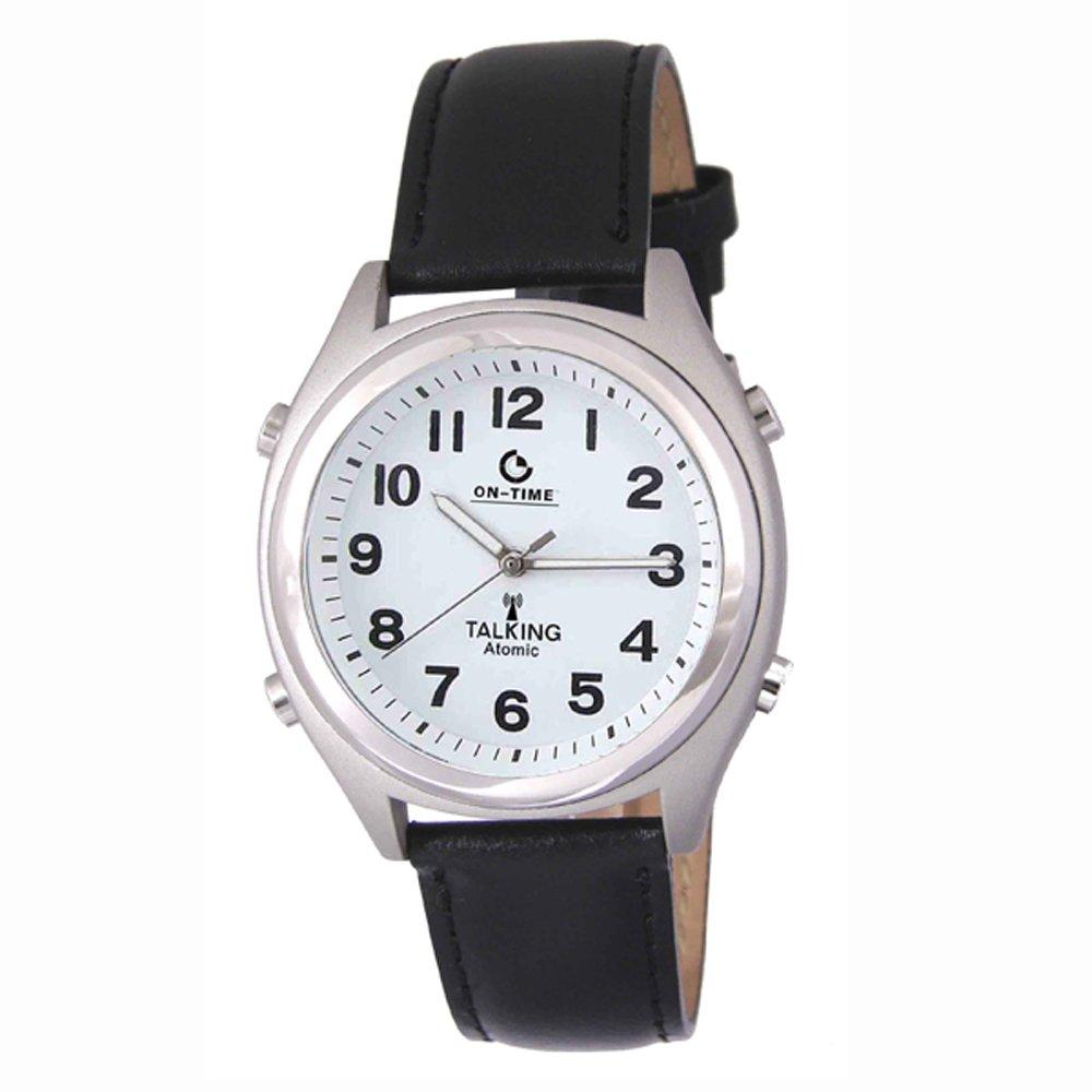 amazoncom atomic talking wrist watch walarm speaks the