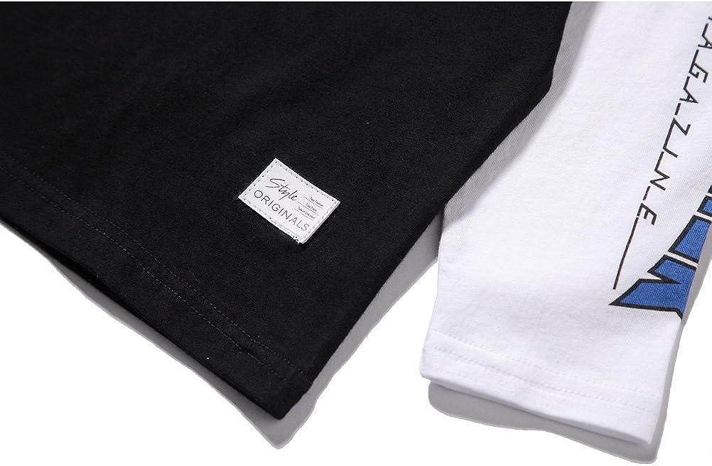 Boys Basic Black Long Sleeve T Shirts