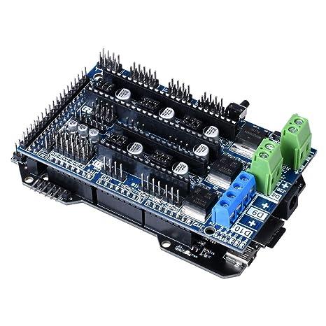 TOOGOO Placa de Controlador de 32 bits de Re-Arm Clonada Base de ...