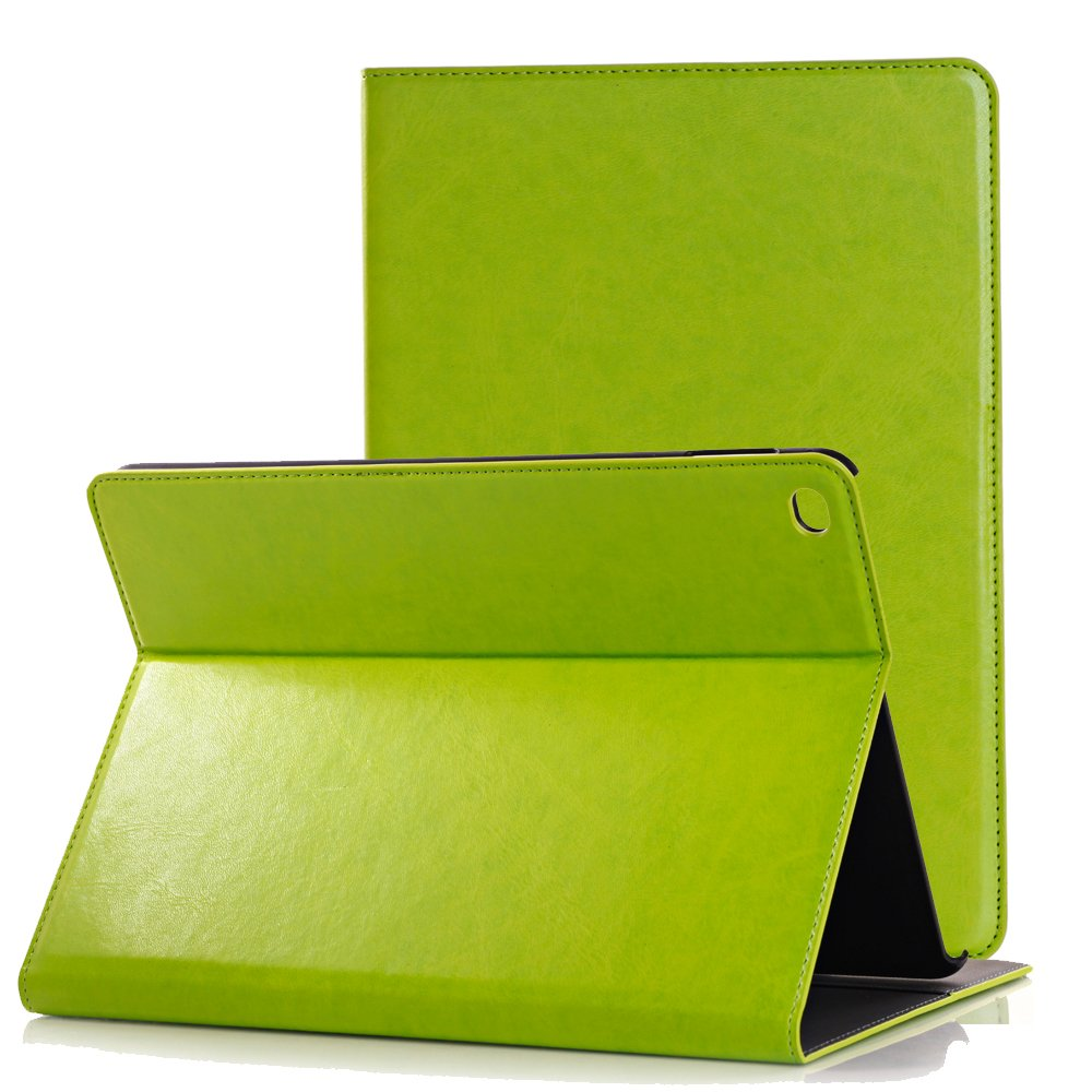 iPad Pro 12.9 Case, SorbSun Smart Protective Fold Folio Flip Stand Case Cover with Card Slot and Pocket for Apple iPad Pro 12.9 2015 Release - Green