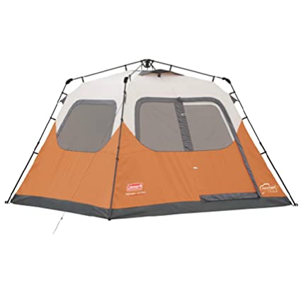 buy popular 795db a42b4 Coleman New Outdoor Camping Waterproof 6 Person Instant Tent - 10'x9'  Foootprint