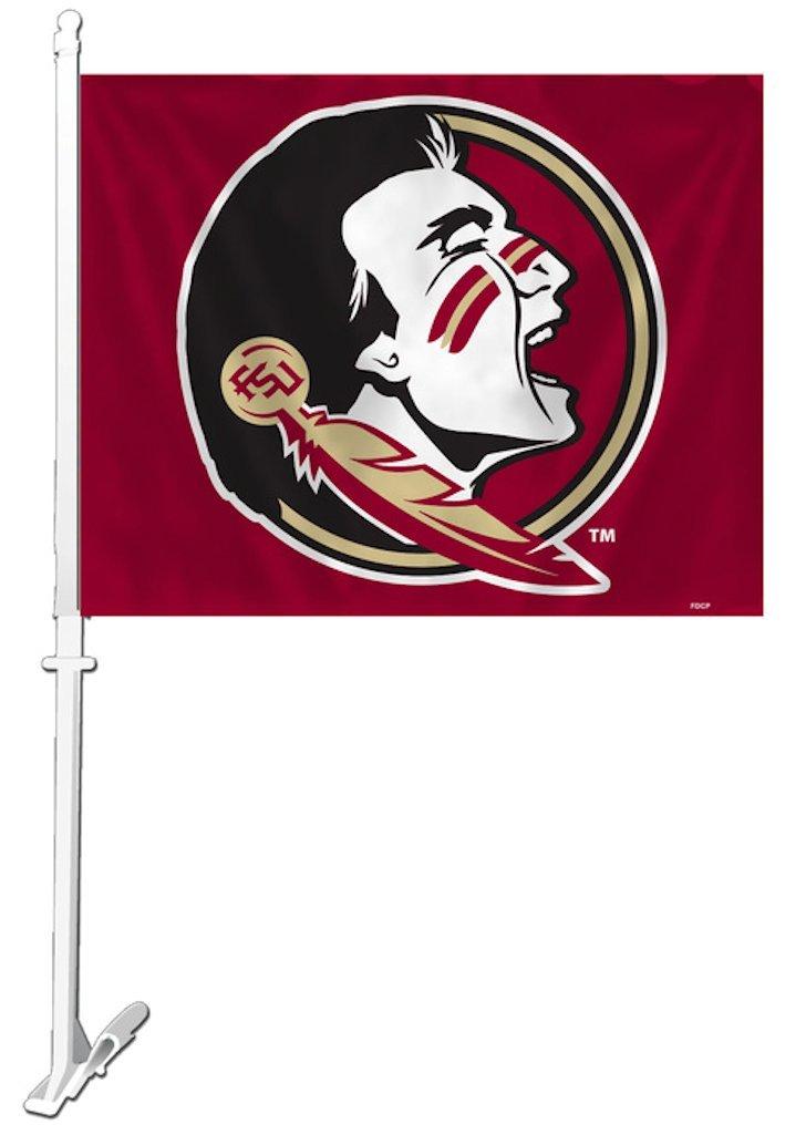 Florida State Seminoles Car Flag Fremont Die 023245489997