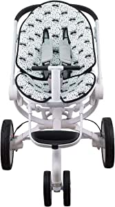 Janabebe Mat for Quinny Moodd, Cam Cubo y Stokke and Cybex Priam Deluxe (Raccoon)