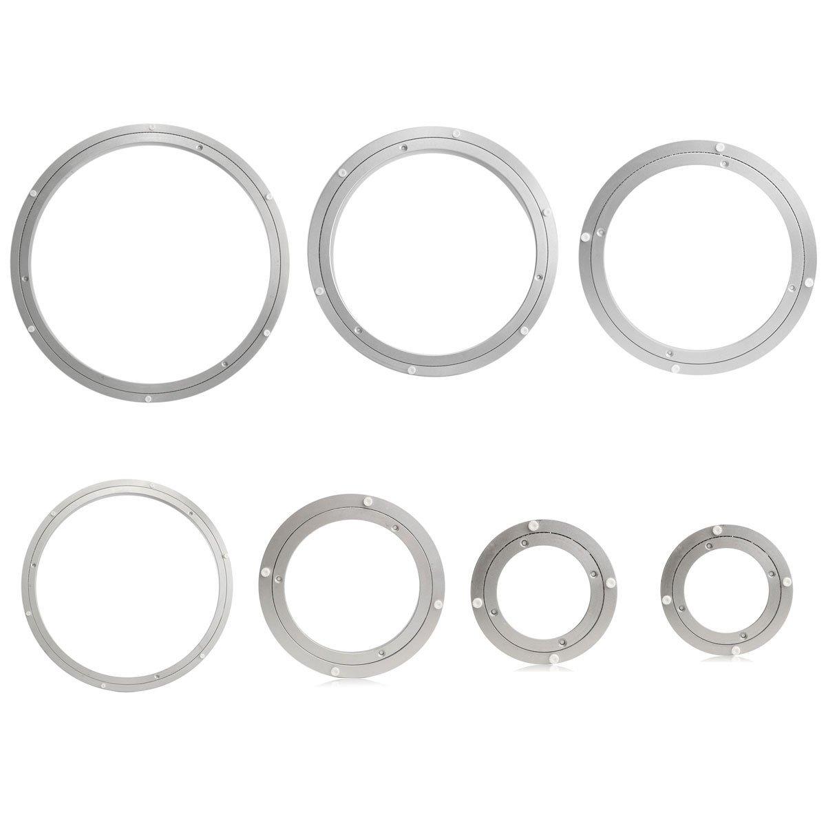 rotatif Roulement platine, Lovinn rotatif en aluminium robuste Roulement platine Turn Table ronde Assiette Vaisselle