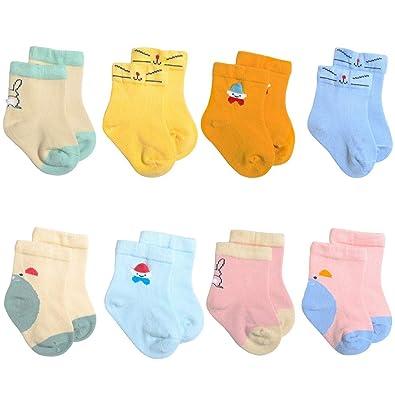 Bzline De Enfants Chaussettes Paires Coton 8 En Garçons rTwzr
