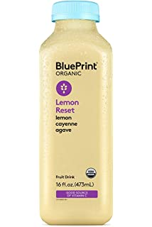 The 3 day cleanse your blueprint for fresh juice real food and a blueprint juice lemon cayenne agave 16 ounce pack of 6 malvernweather Image collections