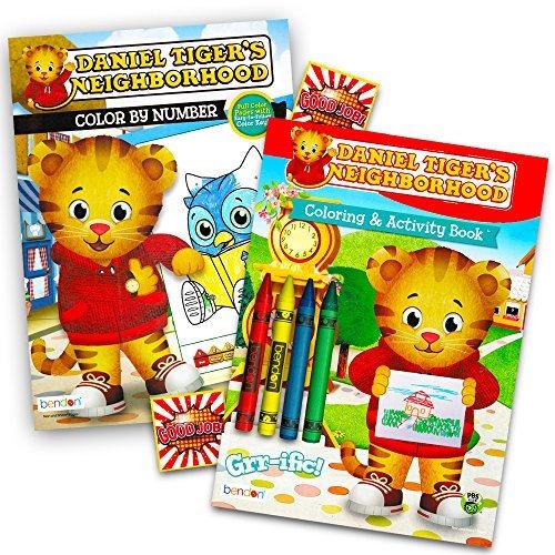 Daniel Tiger Coloring Book: Amazon.com