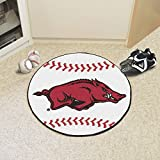 Arkansas Razorbacks 29'' Round Baseball Floor Mat (Rug)