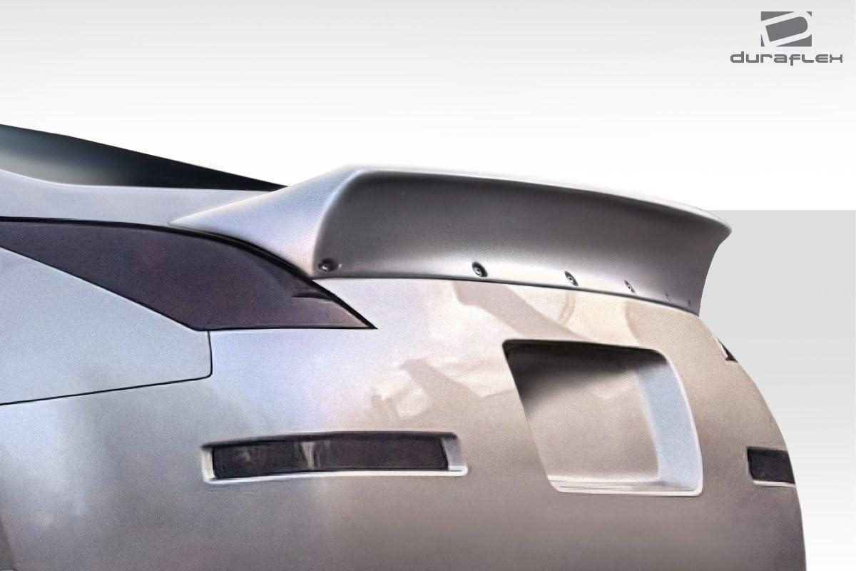 1 Piece Body Kit Compatible With 350Z 2003-2008 Brightt Duraflex ED-LOM-022 RBS Rear Wing Spoiler