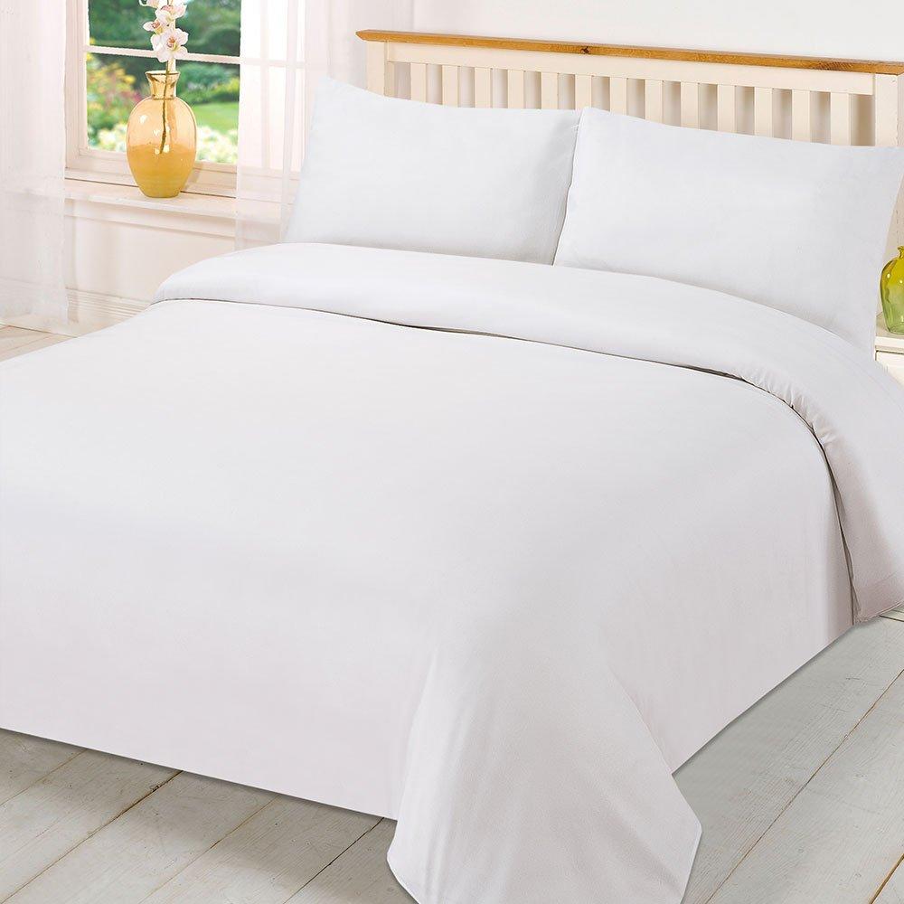 EMF Shielding Duvet and Mattress Sheet Anti-Radiation Bed Set (Twin XL, Swiss Shield Naturell)