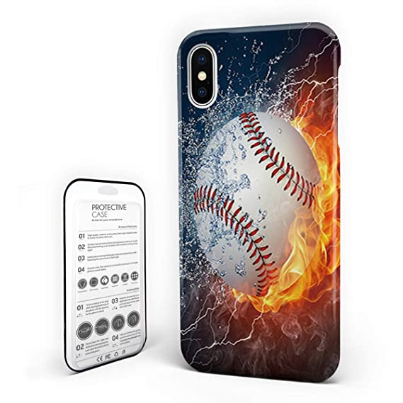 Amazon com: Customize Phone Protective Cover Tennis on Fire and