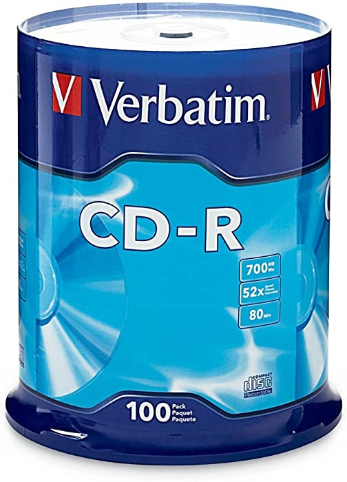 Top 10 Cdrw Blank Discs For Home Recorders