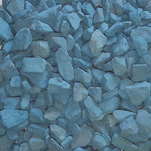 Lagoon Gravel (Butler Arts 0.50 cu. ft. 40 lbs. 3/4 in. Lagoon Blue Landscaping Gravel)