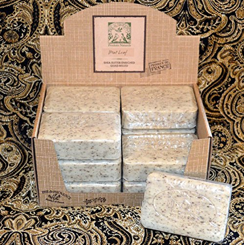 (Pre de Provence Mint Leaf Soap - Case of 12)