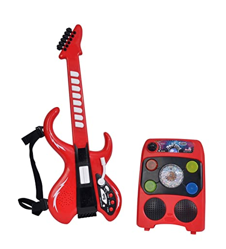 Simba 106834251 My Music World Disco Guitarra con Amplificador