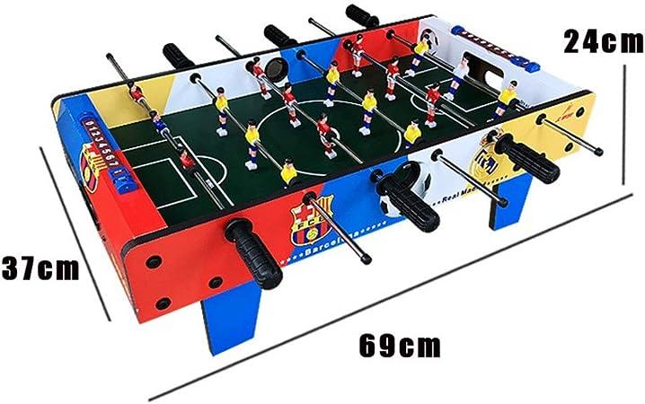 Mesa de futbolín Futbolín Mesa de Juego de fútbol for Adultos y niños Mini portátil de Mano de recreo de fútbol Mesa de futbolín Competencia Juegos de Mesa Tabla de futbolín para