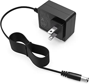 AC 100-240V 50/60Hz to DC 5V 2A 2000MA 5FT Power Adapter Fit for TV Box, LED Strip Lights,Graco Baby Swing,More 5V Volt Device Need Connector Jack 5.5mmx2.1mm Charger Supply Cord