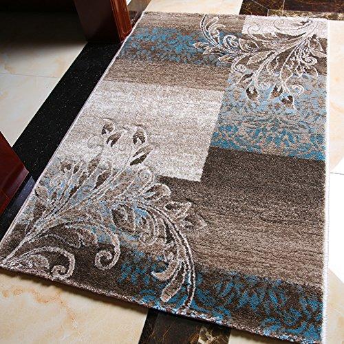 Shaggy Anti-skid Carpets Rugs Floor Mat/Cover 80x120cm Purple - 9