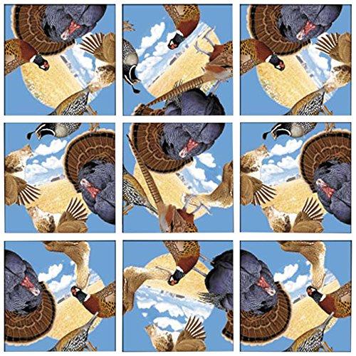 B Dazzle Game Birds Scramble Squares 9 Piece ()