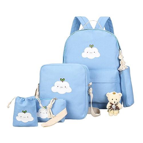 Xinwcang 5 Pcs Sets de útiles Escolares para Niñas/Niños ...