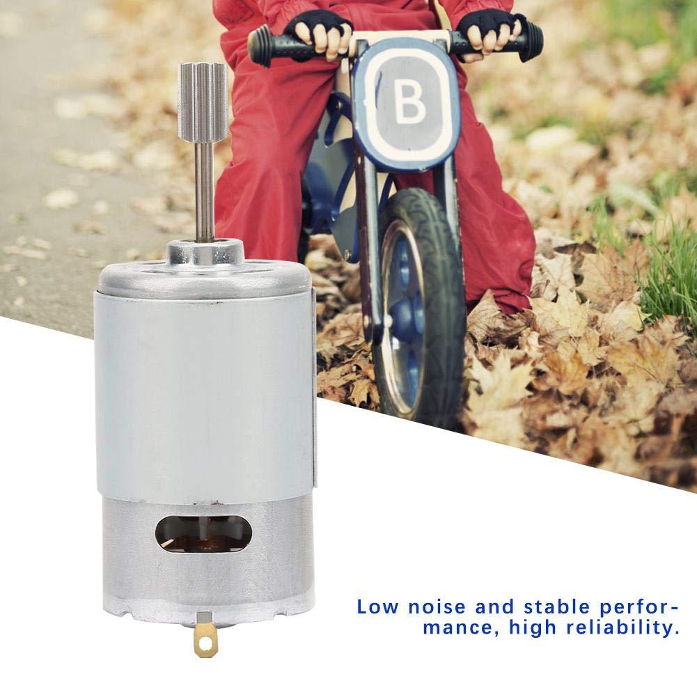 FTVOGUE 12V RS550 Micro Moteur de Haute vitesse moteur /électrique de voiture pour enfants Moto Vitesse Moteur Poussette Accessoires 12V550-30000