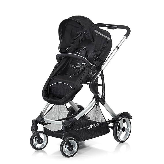 Hauck Duett - Carrito de bebé para 2 niños de diferentes edades, silla superior convertible en cochecito, silla inferior extraíble: Amazon.es: Bebé