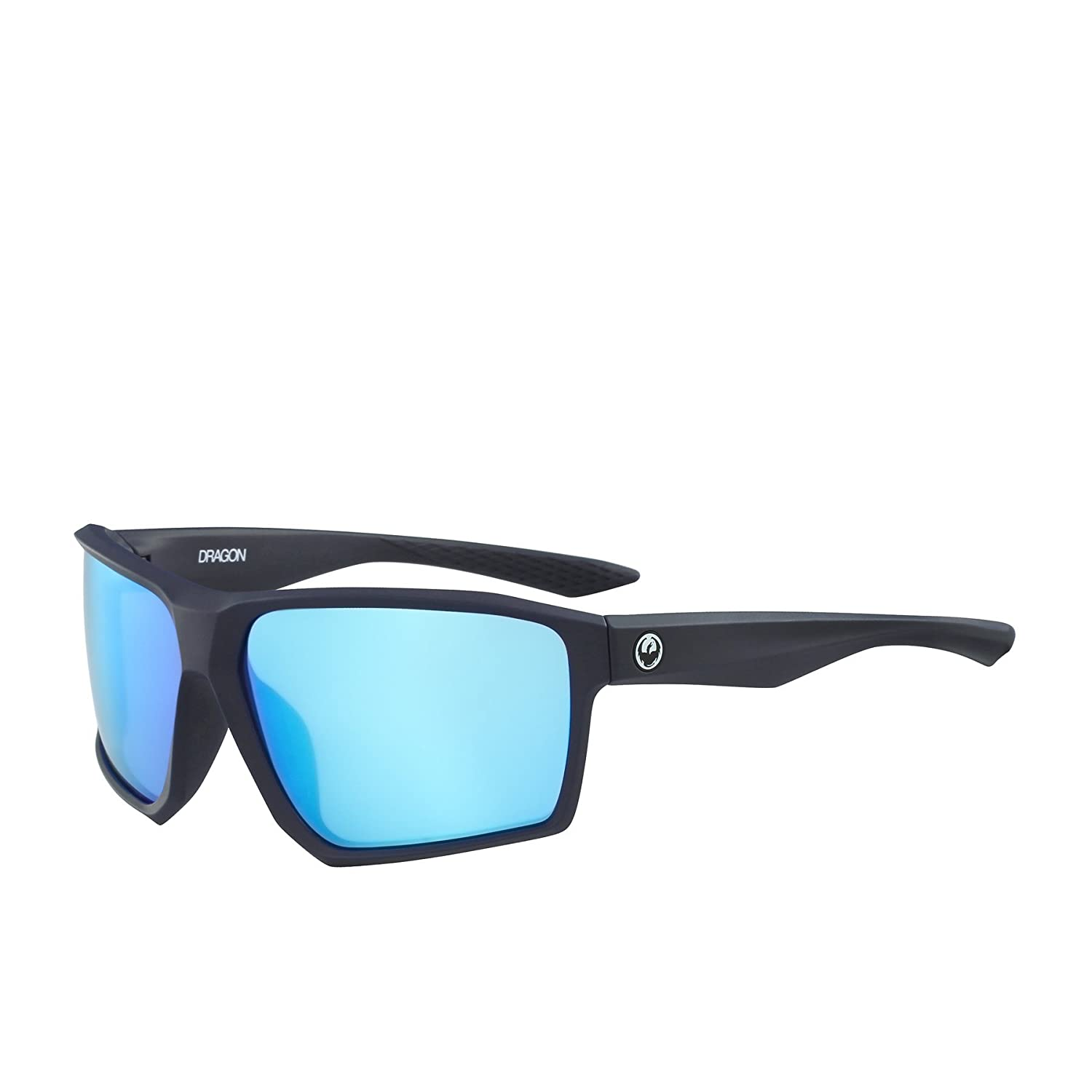 8f2871b3c77 Dragon Alliance Tenzig Matte Slate Frame with Blue Ion Lens Sunglasses   Amazon.co.uk  Clothing