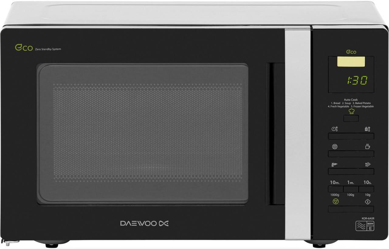 Dynamic-Res DAEWOO - KOR6A0R - MICROWAVE 20LTR 800W - by Cleva Cutting-Edge