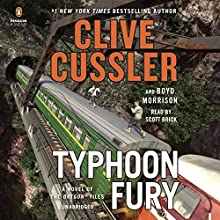 Typhoon Fury: The Oregon Files, Book 12 Audiobook by Clive Cussler, Boyd Morrison Narrated by Scott Brick