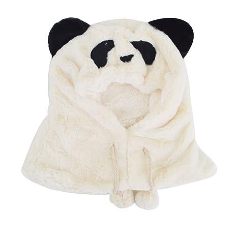 dfa43514a Meliya Cute gorro de invierno cálido con capucha bufanda de punto para  sudadera de Unisex bebés