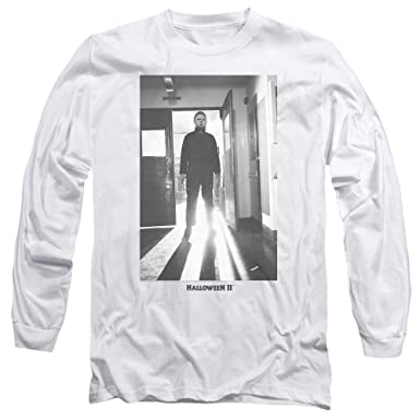 1ddd9489 Image Unavailable. Image not available for. Color: Halloween II Horror  Slasher Movie Series Monster Adult Long Sleeve T-Shirt