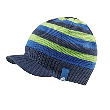 adidas Performance Mens Cityblock Stripe Visor Beanie Hat - Black - One  Size  Amazon.co.uk  Sports   Outdoors 6bbadfbed
