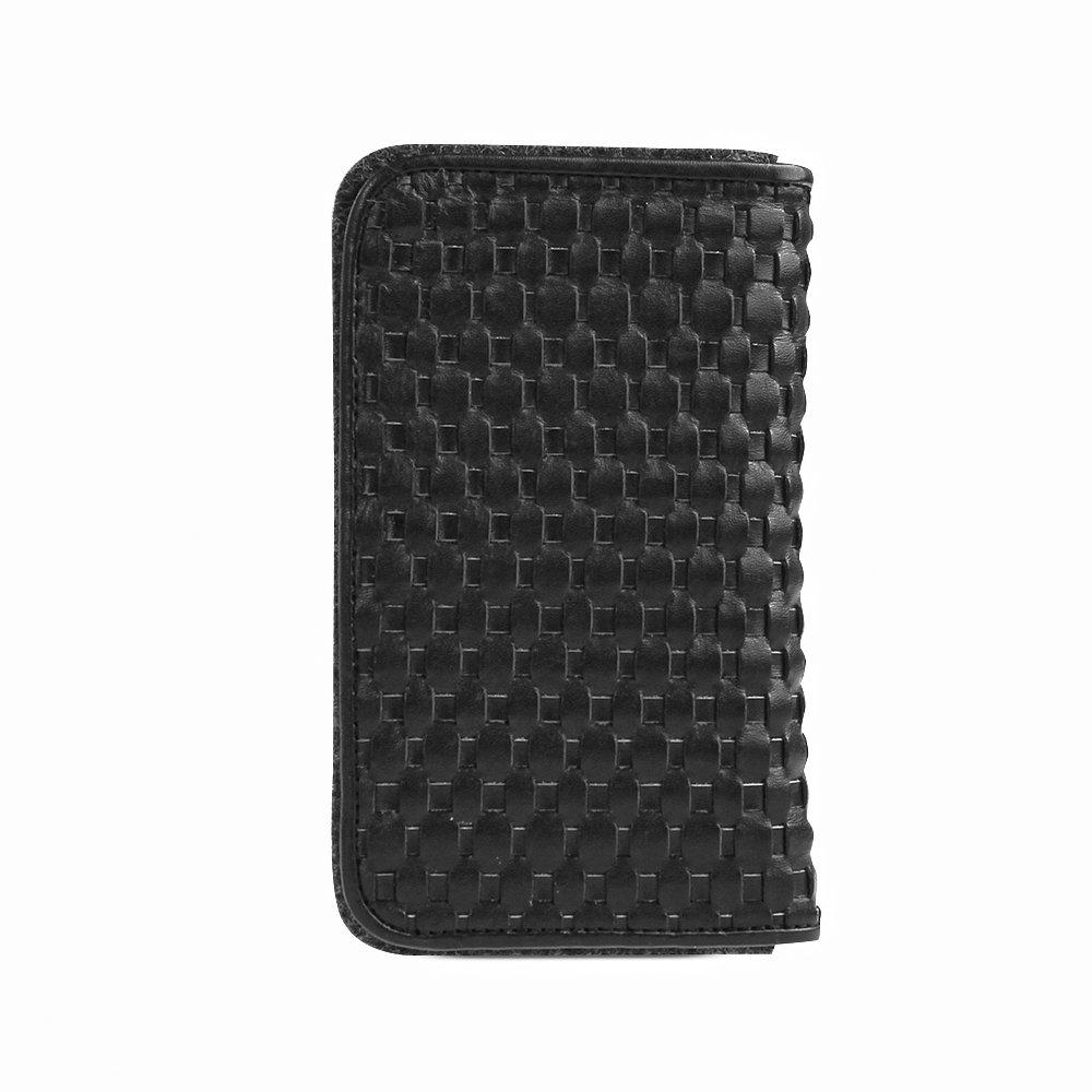 D Park Htc Desire 600 Dual Sim 601 Zara Woven Lg L80 D380 Black Free Case Leather Wool Felt Smartphone Wallet In Elegant Genuine W Strip