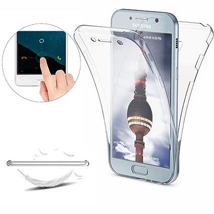 0be678d9a58 Funda Samsung Galaxy A3 2017 (A320) Carcasas [Cover 360 Grados], Doble