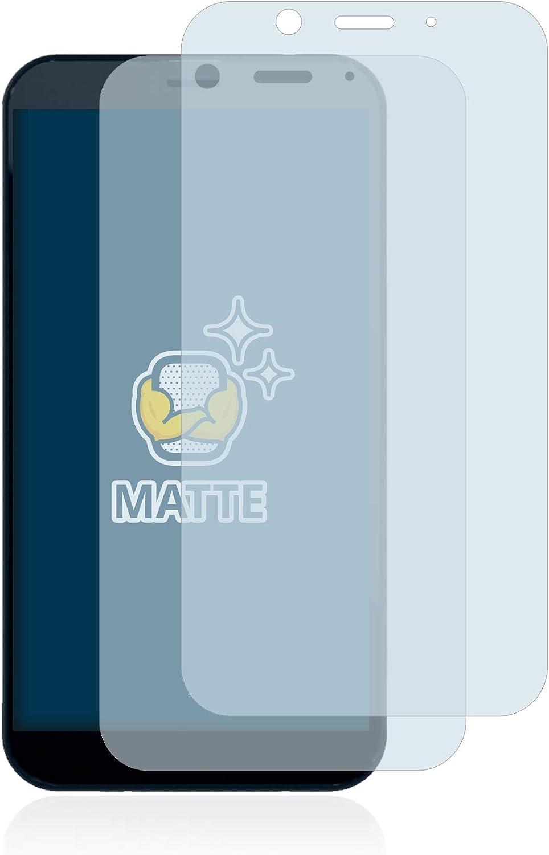 Anti-Fingerprint Anti-Reflex BROTECT 2X Entspiegelungs-Schutzfolie kompatibel mit Shiftphones Shift6m Displayschutz-Folie Matt