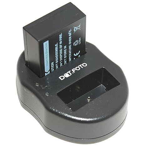 Dot.Foto Fujifilm NP-W126 Batería + Cargador Doble USB con ...