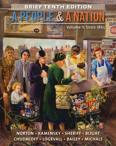 2: A People and a Nation, Volume II: Since 1865, Brief Edition