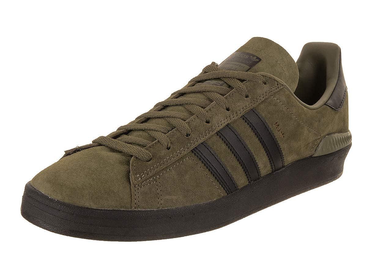 adidas Campus ADV (Olive CargoBlackGold Metallic) Men's Skate Shoes