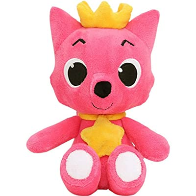 "Pinkfong Fox Doll 12"" Plus - Stuffed Animal Plush Toy From The Hit Song Baby Shark - Official Pinkfong 30 cm Doll: Toys & Games"