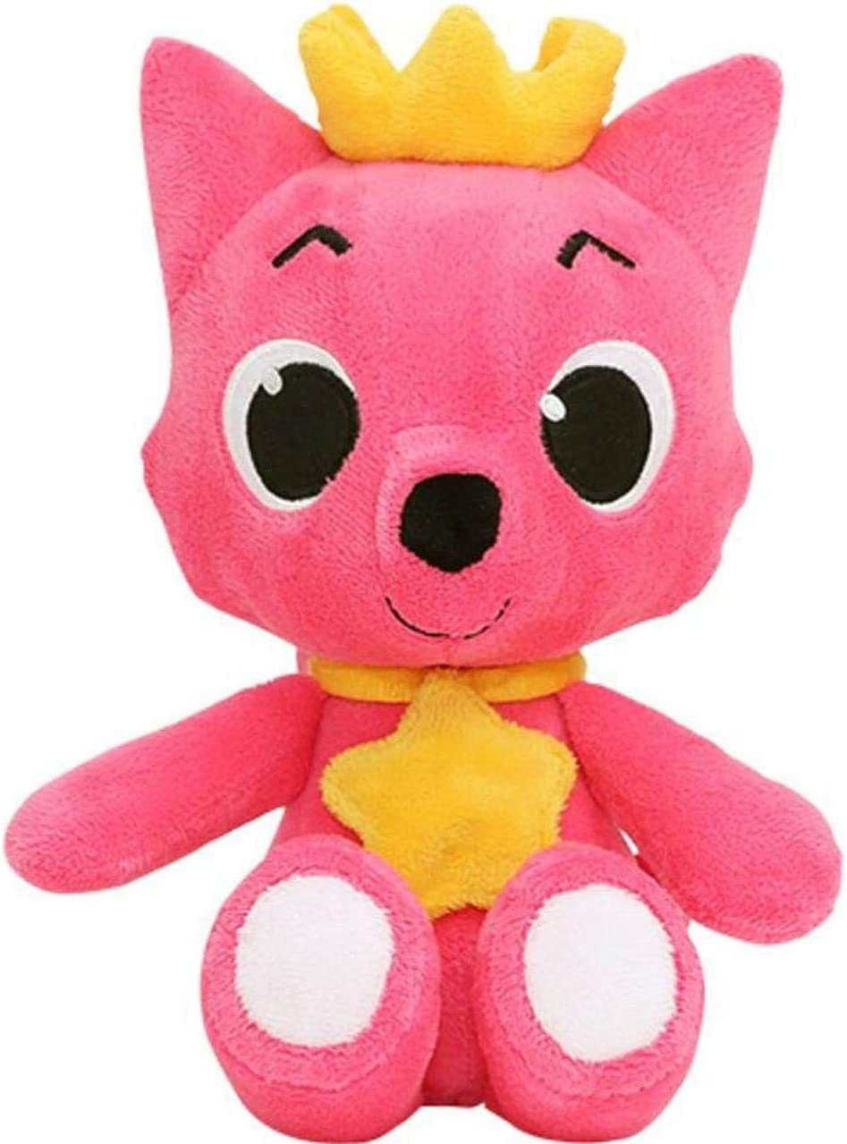 """Pinkfong Fox Doll 12"""" Plus - Stuffed Animal Plush Toy From The Hit Song Baby Shark - Official Pinkfong 30 cm Doll"""