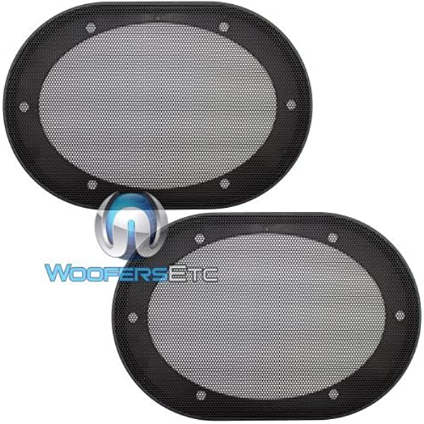 Amazon Com 5 X 7 6 X 8 Universal Steel Mesh Protective Speaker Grills Pair Car Electronics