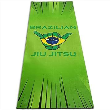Zhangyi Brasil BJJ Shaka - Esterilla de Yoga para Hacer ...
