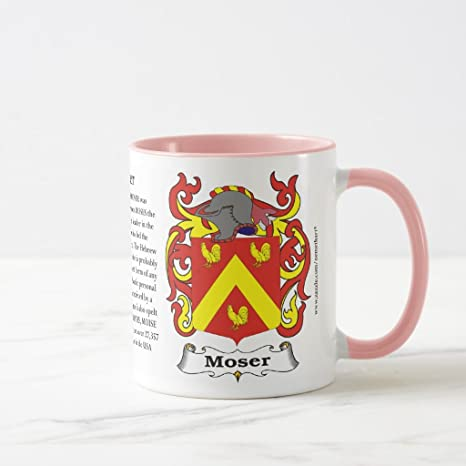 Amazon Zazzle Moser Origin Meaning And The Crest Coffee Mug